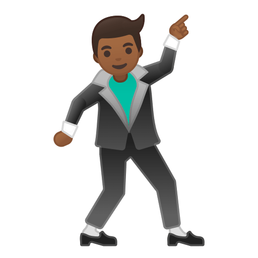 Brown Man Emoji