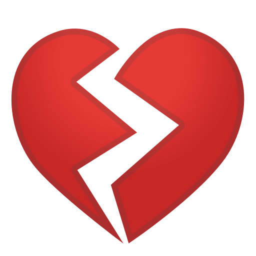 broken heart emoji meaning with pictures  from a to z