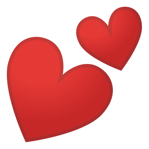 two hearts emoji meaning with pictures from a to z