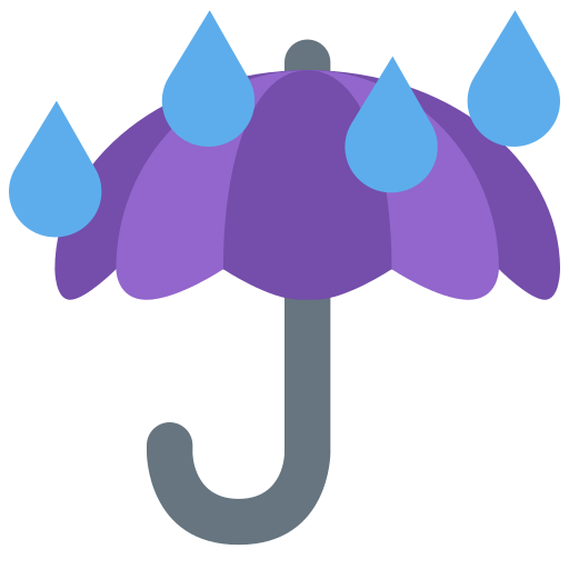 ☔ Umbrella with Rain Drops Emoji Meaning with Pictures: from A to Z