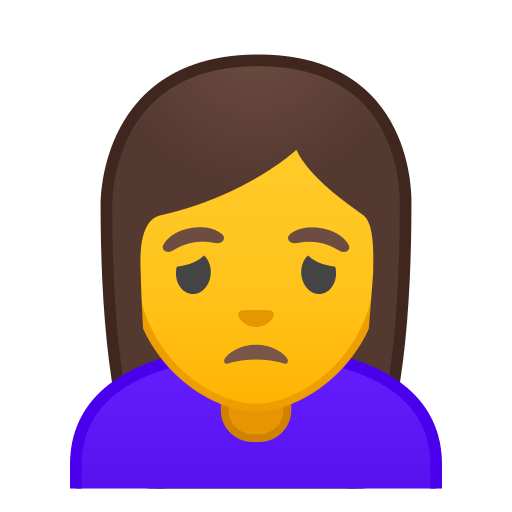 Person Frowning Emoji Meaning With Pictures From A To Z
