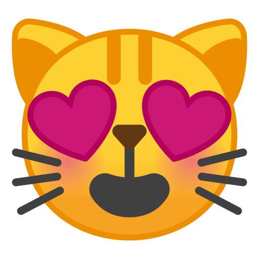 Smiling Cat Face With Heart Eyes Emoji Meaning And Pictures