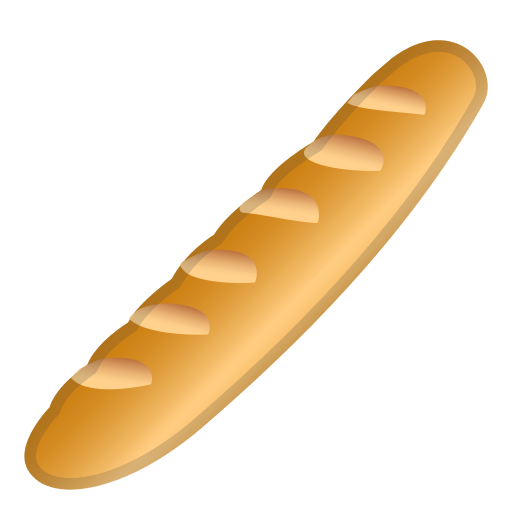 baguette bread emoji meaning with pictures  from a to z
