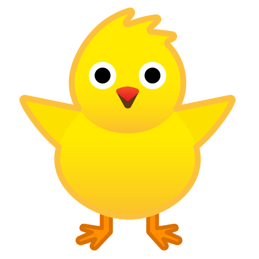 🐥 Front-Facing Baby Chick Emoji Meaning with Pictures: from