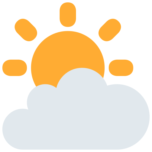Sun Behind Cloud Emoji Meaning with Pictures: from A to Z Symbols Copy And Paste Sun