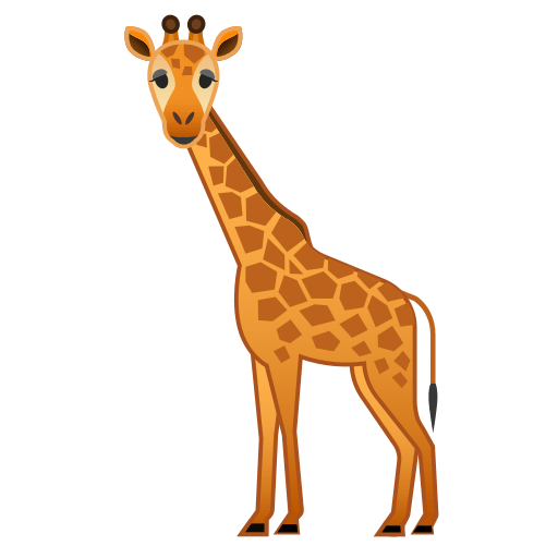 giraffe emoji meaning with pictures  from a to z