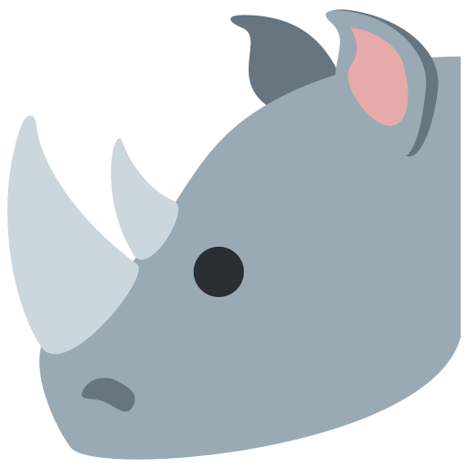 🦏 Rhinoceros Emoji Meaning with Pictures: from A to Z