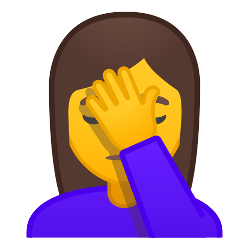 Face Palm Emoji Meaning With Pictures From A To Z
