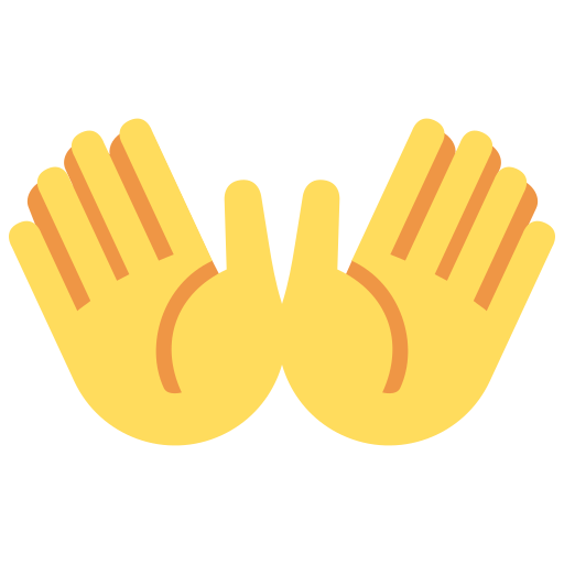 👐 Open Hands Emoji Meaning with Pictures: from A to Z