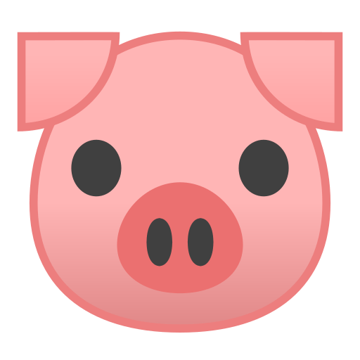 pig face emoji meaning with pictures from a to z