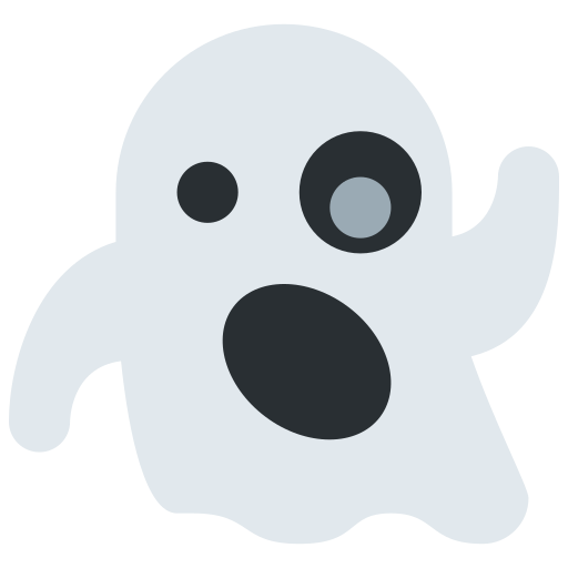 ghost emoji meaning with pictures  from a to z