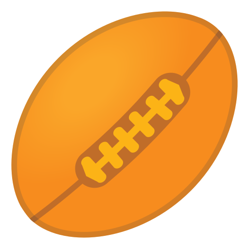 Rugby Football Emoji Meaning With Pictures From A To Z