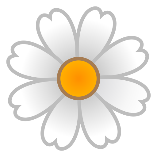 White Flower Emoji Png Flowers Healthy