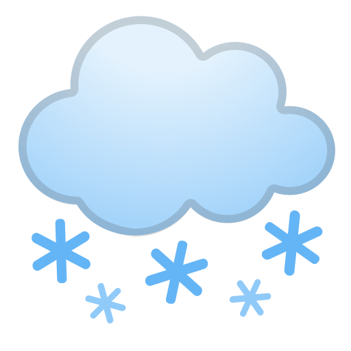Cloud With Snow Emoji Meaning With Pictures From A To Z