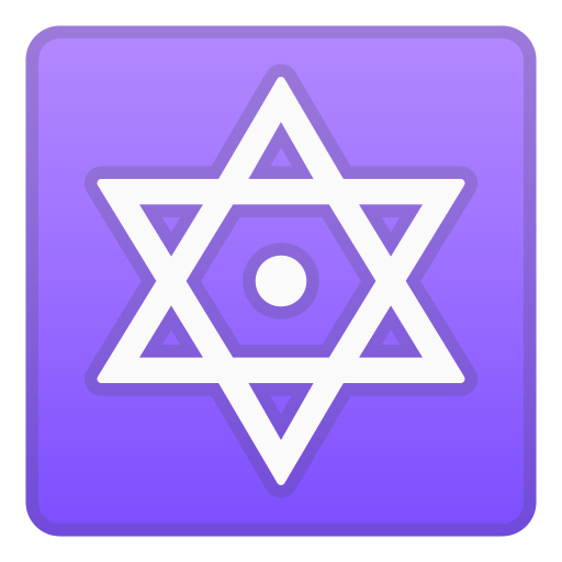 🔯 Dotted Six-Pointed Star Emoji Meaning with Pictures: from A to Z