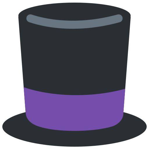Top Hat Emoji Meaning With Pictures From A To Z
