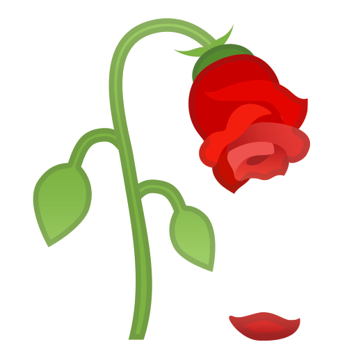Wilted Flower Emoji Meaning With Pictures From A To Z