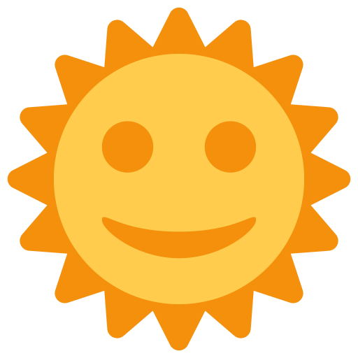 Sun Emoji Meaning with Pictures: from A to Z Symbols Copy And Paste Sun