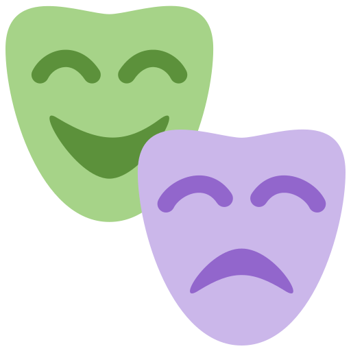 🎭 Performing Arts Emoji Meaning with Pictures: from A to Z