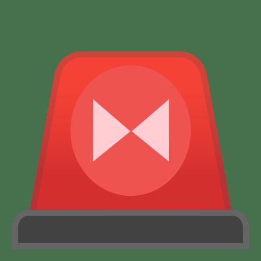 Image result for siren emoji