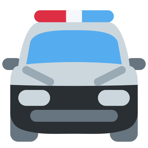 🚔 Oncoming Police Car Emoji Meaning with Pictures: from A to Z