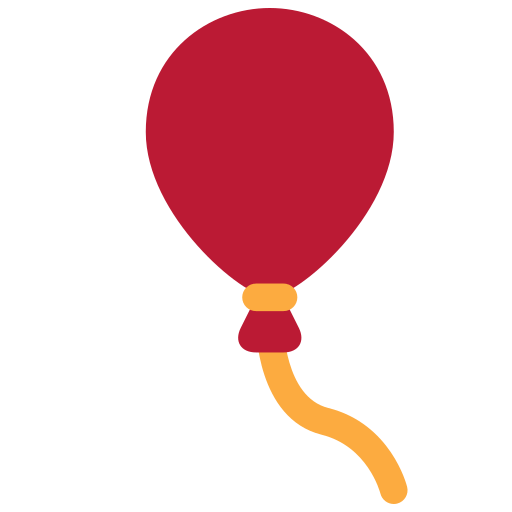 Balloon Emoji Meaning with Pictures: from A to Z  |Red Balloon Emoji