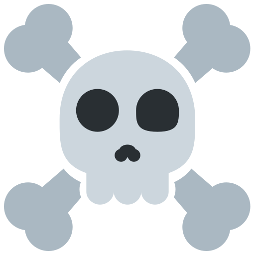 ☠️ Skull and Crossbones Emoji Meaning with Pictures: from