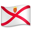 Flag of Jersey Emoji, LG style