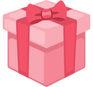 Wrapped Gift Emoji, Facebook style