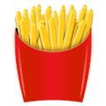 French Fries Emoji, LG style