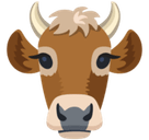 Cow Face Emoji, Facebook style