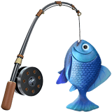 Fishing Pole Emoji, Apple style
