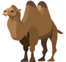 Two-Hump Camel Emoji, Facebook style