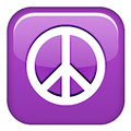 Peace Symbol, Apple style