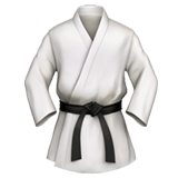 Martial Arts Uniform Emoji, Apple style