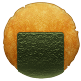 Rice Cracker Emoji, Apple style