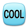 Cool Button Emoji, LG style