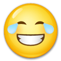 Laughing Emoji / Face With Tears Of Joy Emoji, LG style