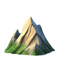 Mountain Emoji, Apple style