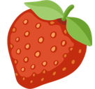 Strawberry Emoji, Facebook style
