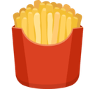 French Fries Emoji, Facebook style