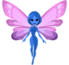 Fairy Emoji with Medium Skin Tone, Facebook style