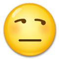 Side eye emoji text
