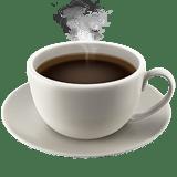 Coffee Emoji, Apple style