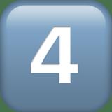 Keycap: 4 Emoji, Apple style