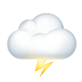 Cloud With Lightning Emoji Meaning Pictures Codes