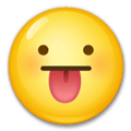Tongue Sticking Out Emoji / Face with Stuck-Out Tongue Emoji, LG style