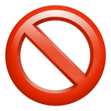 Prohibited Emoji, Apple style
