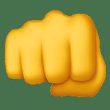 Fist Bump Emoji, Apple style