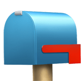 Closed Mailbox with Lowered Flag Emoji, Apple style